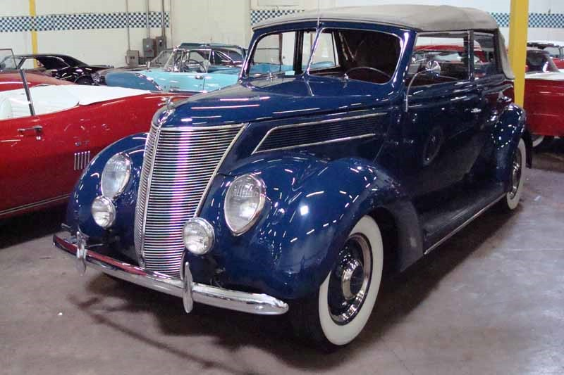 1937 ford deluxe all weather 4 door convertible sedan for 1937 ford four door