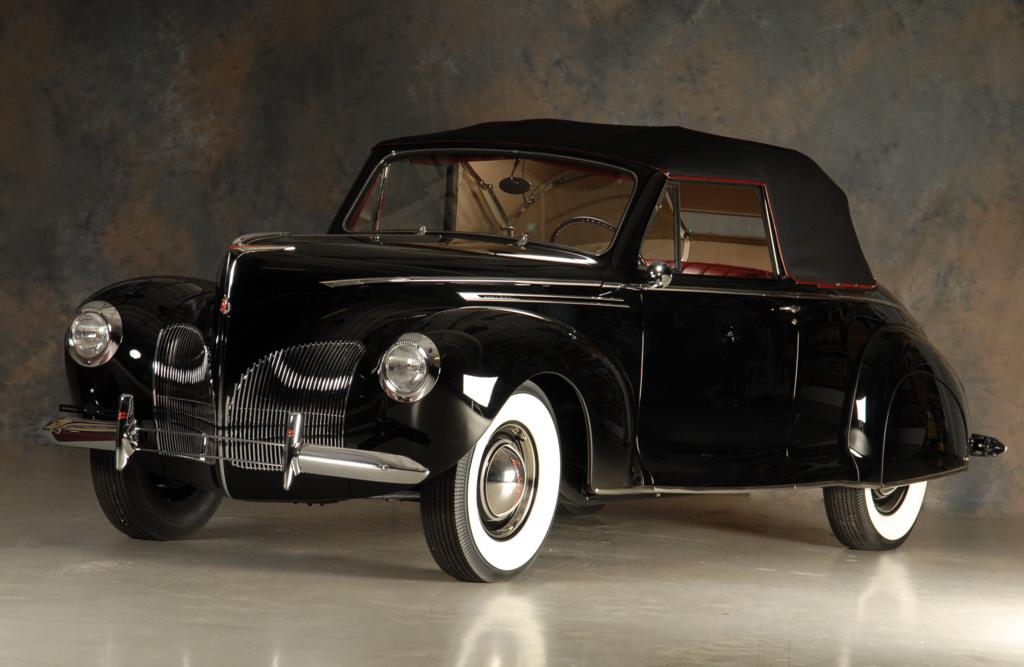 babe ruth 39 s 1940 lincoln zephyr continental. Black Bedroom Furniture Sets. Home Design Ideas