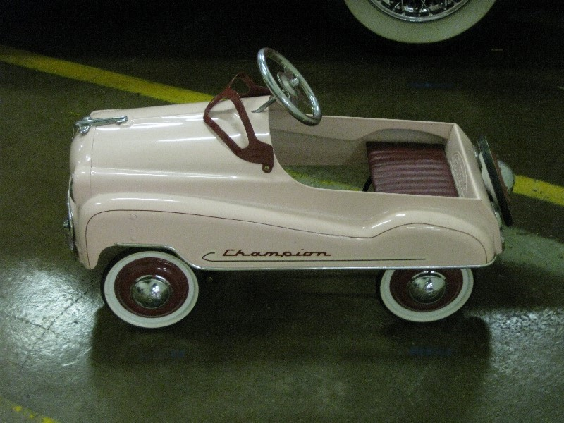 Vintage Pedal Car Parts : Antique pedal car parts antiques center