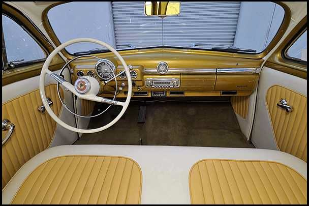 1950 Mercury Custom Woody Wagon