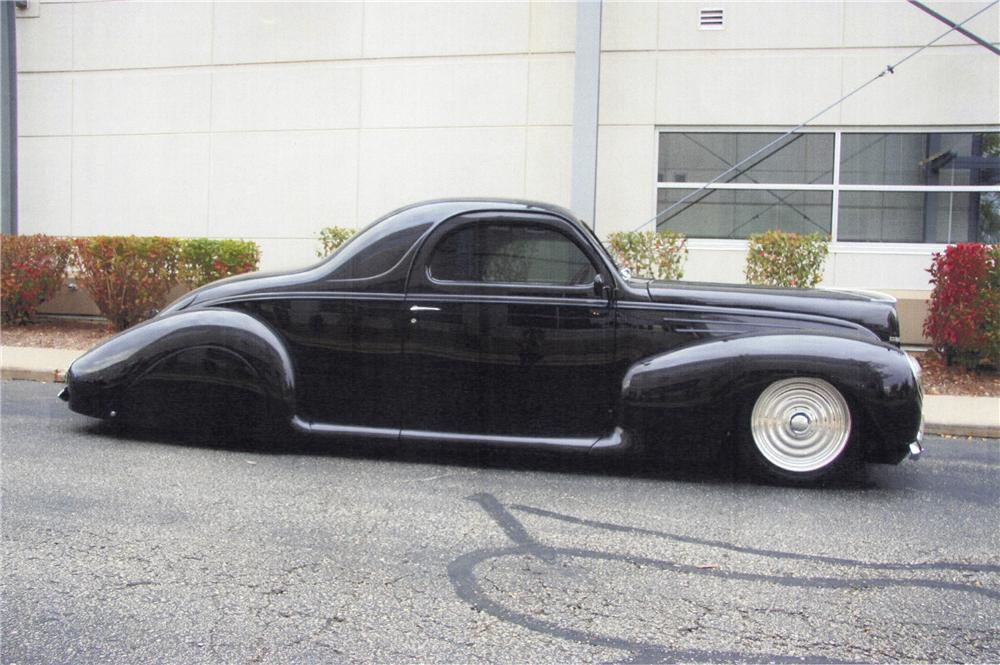 Image gallery lincoln zephyr custom for 1937 lincoln zephyr 3 window coupe for sale